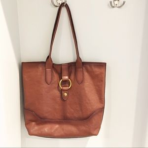 Frye Leather Ring Tote